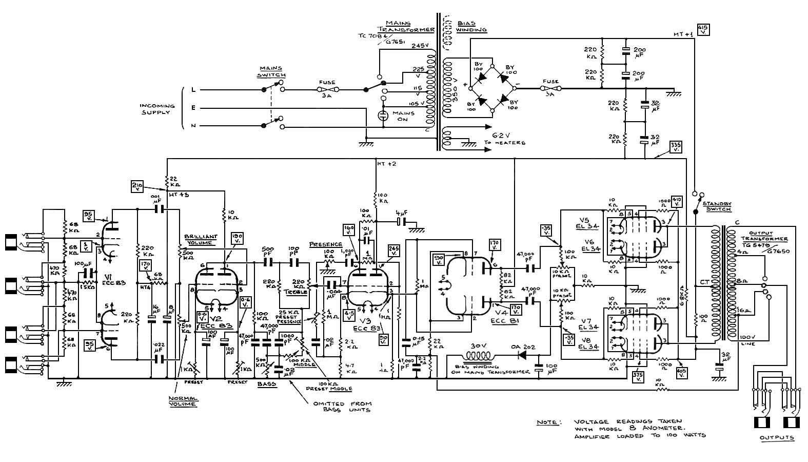 Amp Schematics on diagramming software, tube map, straight-line diagram, cross section, one-line diagram, block diagram, technical drawing, control flow diagram, data flow diagram, functional flow block diagram, function block diagram, schematic capture, piping and instrumentation diagram, ladder logic, electronic design automation, circuit diagram,